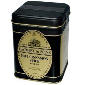 Чай «Горячая корица» (специи), Harney & Sons, 40 г.