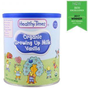 Детская молочная смесь, Organic Growing Up Milk, Healthy Times, 360 г