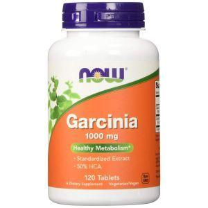 Гарциния (Garcinia), Now Foods, 1000 мг, 120 таблеток