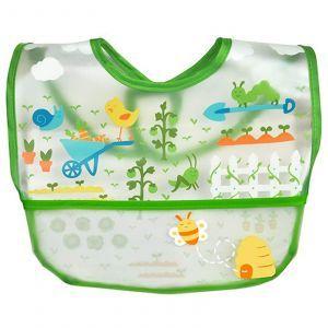 Детский нагрудник зеленый, Wipe-Off Bib, iPlay Inc., 1 шт