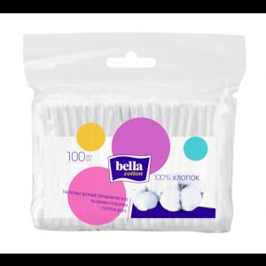 Ватные палочки, Cotton buds, Bella Cotton, 100 шт