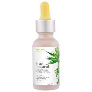 Сыворотка с ретинолом,  Retinol Vitamin A Serum, InstaNatural, 30 мл