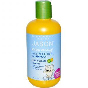 Детский шампунь ежедневного использования, Jason Natural, 237 мл.