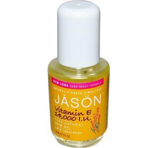 Масло с витамином Е, Jason Natural, 30 мл