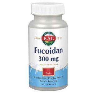 Фукоидан, Fucoidan, KAL, 300 мг, 60 таблеток