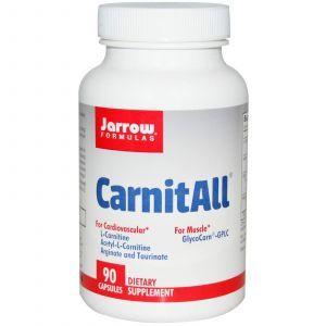 L-карнитины, Jarrow Formulas, 90 капсул