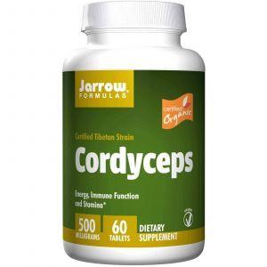 Лечебные грибы кордицепс, Jarrow Formulas, 60 таб.