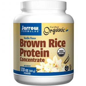 Рисовый протеин, Jarrow Formulas, 504 грамма