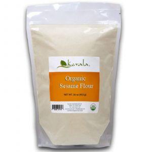 Кунжутна борошно, Sesame Flour, Kevala, органік, 453 г
