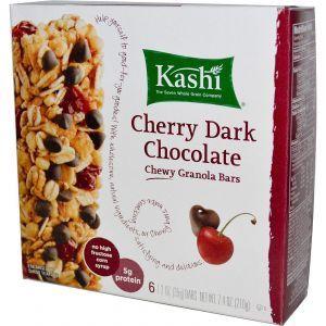 Батончики з мюслі з темним шоколадом зі смаком вишні, Kashi, 6-2 шт.