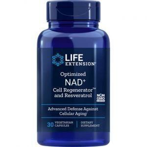 Нікотинамід рібозід, що містить ресвератрол, Life Extension, 30 капсул