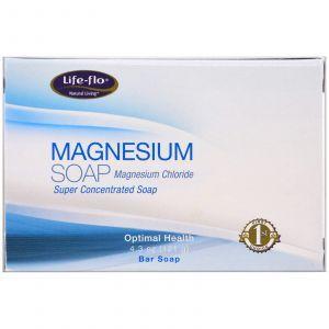 Магниевое мыло, Magnesium Soap, Life Flo Health, 121 г
