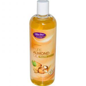 Миндальное масло, Life Flo Health, 473 мл