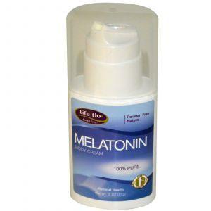 Крем с мелатонином, Life Flo Health, 57 г.