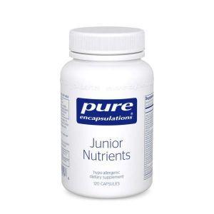 Мультивитамины для детей, Junior Nutrients, Pure Encapsulations, 120 капсул