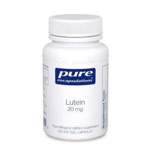Лютеин, Lutein, Pure Encapsulations, 20 мг, 120 капсул