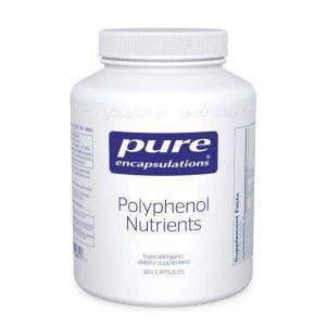 Богатая полифенолами мультивит./мультимин. формула, Polyphenol Nutrients, Pure Encapsulations, 360 капсул