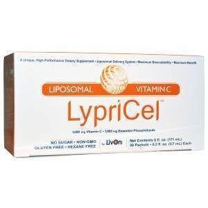 Витамин С липосомальный, Liposomal Vitamin C, LypriCel, 30 пакетов по 5. 7 мл
