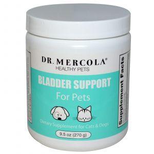 Поддержка мочевого пузыря, домашних животных, Dr. Mercola, 270 г.