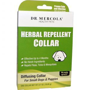 Ошейник от блох для маленьких собак, Dr. Mercola, 19,85 г.