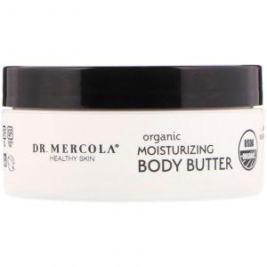 Масло для тела увлажняющее, Moisturizing Body Butter, Dr. Mercola, 113 г