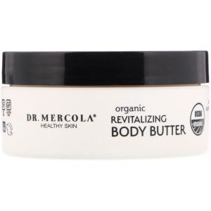 Масло для тела восстанавливающее, Revitalizing Body Butter, Dr. Mercola, 113 г