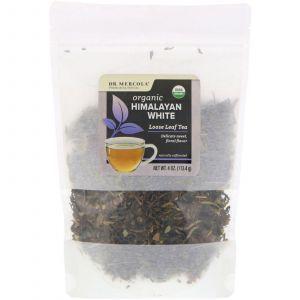 Белый чай листовой, Himalayan White, Loose Leaf Tea, Dr. Mercola, 113,4 г