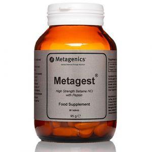 Пищеварительные ферменты, Метаджест, Metagest, Metagenics, 90 таблеток