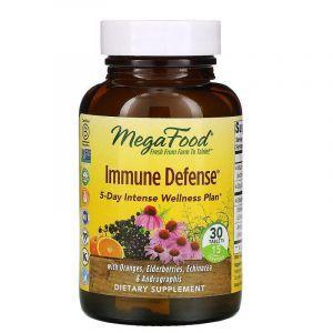 Иммунная защита, Immune Defense, MegaFood, 30 таблеток