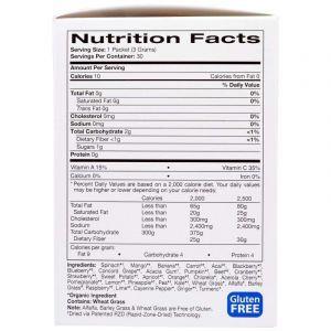 Суперфуд для вегетарианцев, ROY G BIV, Madre Labs, органик, 30 пакетиков по 3 г каждый