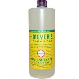 Концентрат для мытья различных поверхностей, Multi-Surface Concentrate, Mrs. Meyers Clean Day, 946 мл