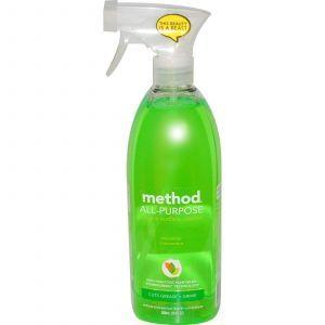 Универсальное моющее средство для любых поверхностей, Surface Cleaner, Method, 828 мл