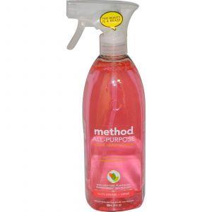 Универсальное натуральное чистящее средство, Surface Cleaner, Method, 828 мл