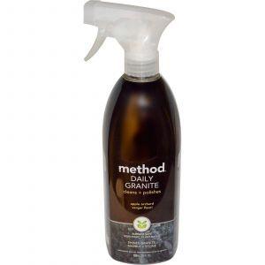 Моющее средство и полировка для гранита, Daily Granite, Method, 828 мл