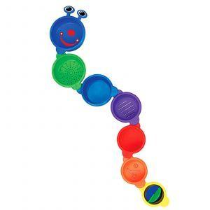 Игрушка для купания малыша, Caterpillar Spillers, Munchkin, 7 шт.