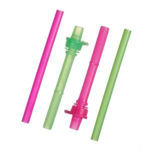 Запасные трубочки с клапанами, Replacement Straws, Munchkin, 2 шт