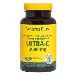 Витамин С, Ultra-C, Nature's Plus, 2000 мг, 60 таблеток