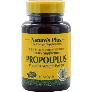 Прополис, Nature's Plus, Пчелиная пыльца, 60 ка