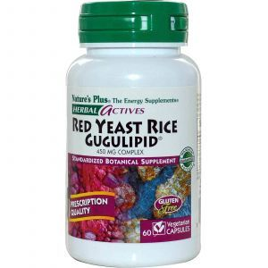 Красный дрожжевой рис, Nature's Plus, 60 кап