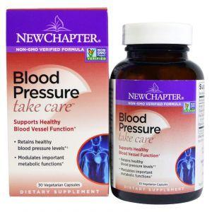 Поддержка артериального давления, Blood Pressure, New Chapter, 30 капсул