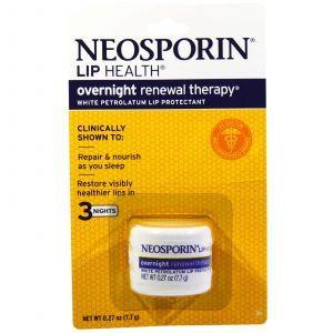 Бальзам для губ, White Petrolatum Lip Protectant, Neosporin, 7,7 г