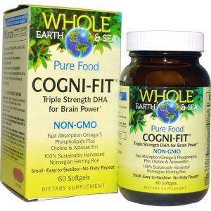 Natural Factors, Whole Earth & Sea, Cogni-Fit