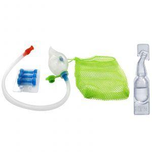 Аспиратор для детей и физраствор, Nasal-Oral Aspirator, NeilMed, 1 набор