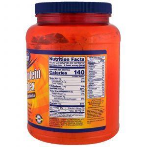 Протеин растительный, Plant Protein Complex, Now Foods, комплекс, вкус шоколада, 907 г