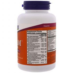 Мультивитамины для мужчин, Adam, Superior Men's Multi, Now Foods, 90 капсул