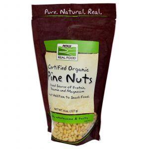 Кедровые сырые орехи, Now Foods, 227 г