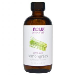 Эфирное масло лимонной травы, Now Foods, 118 мл