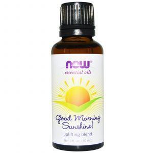 Смесь эфирных масел для утреннего пробуждения, Now Foods, 30 мл