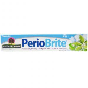 Отбеливающая зубная паста, Toothpaste, Nature's Answer, 113,4 мл