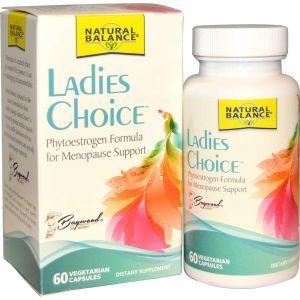 Формула для поддержки в период менопаузы, Formula For Menopause Support, Natural Balance, 60 кап.